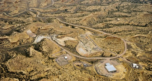 Enefit American Oil's White River mine site