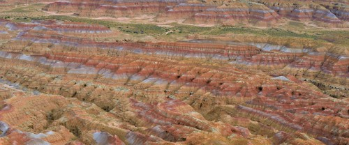 Sandstones and shale near Red Wash, southeast of Vernal, Utah